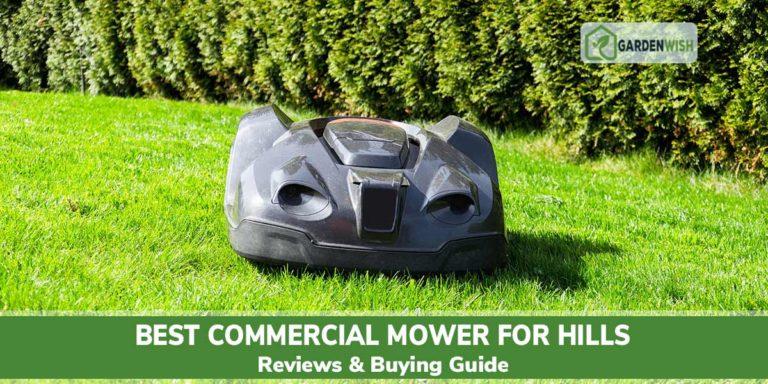 Best commercial mower for hills