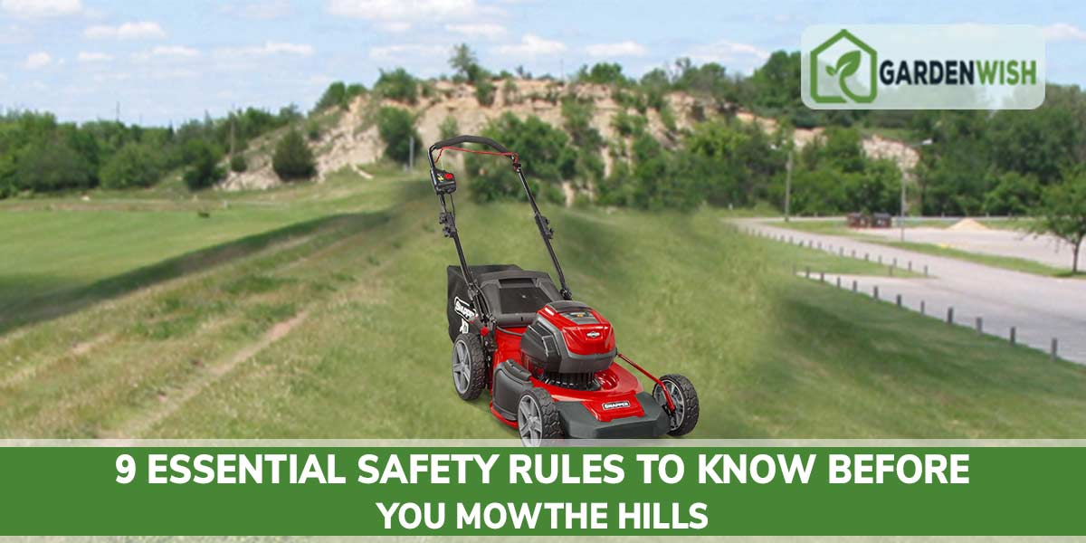 Mow on the hills