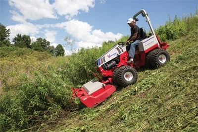 Safety rule for Mow on the hills