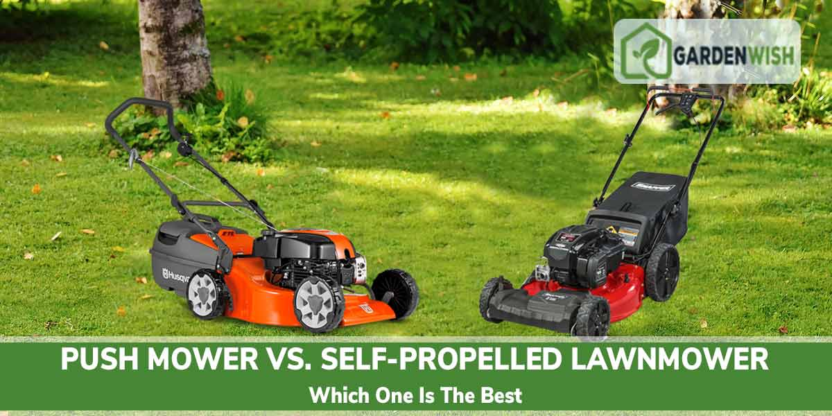Push Mower vs. Self-propelled Mower