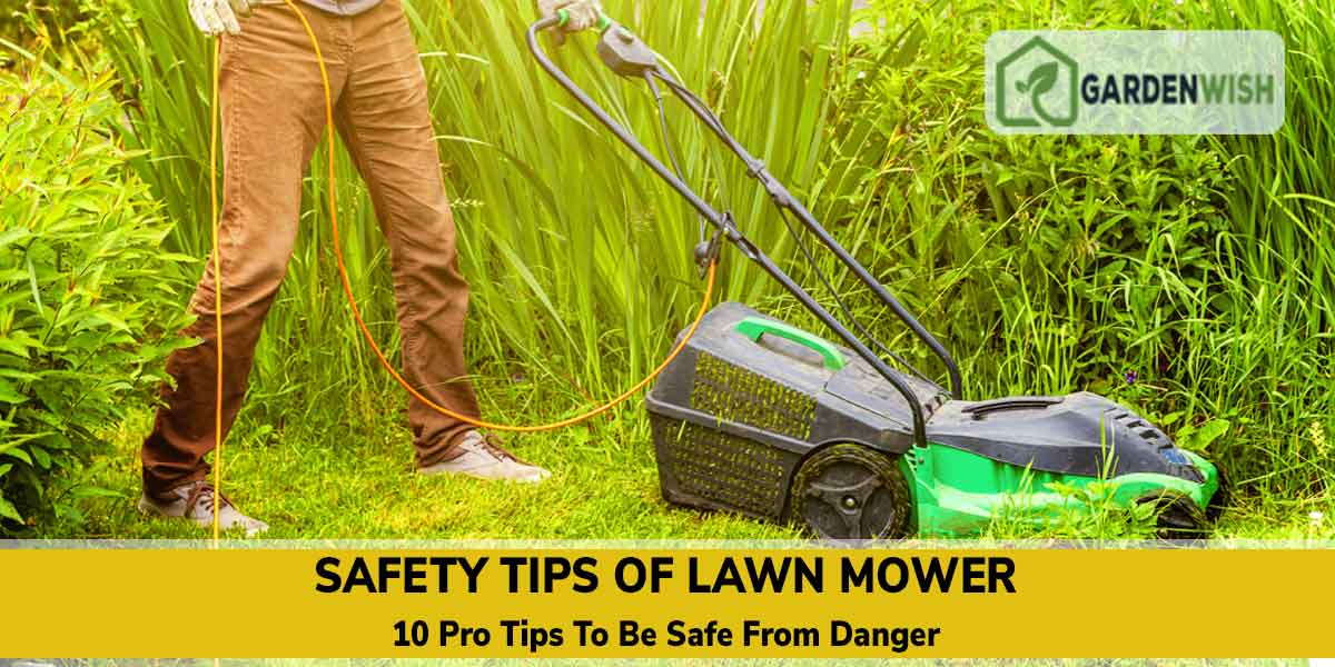 10 Pro Tips to Use Your Lawnmower Safely