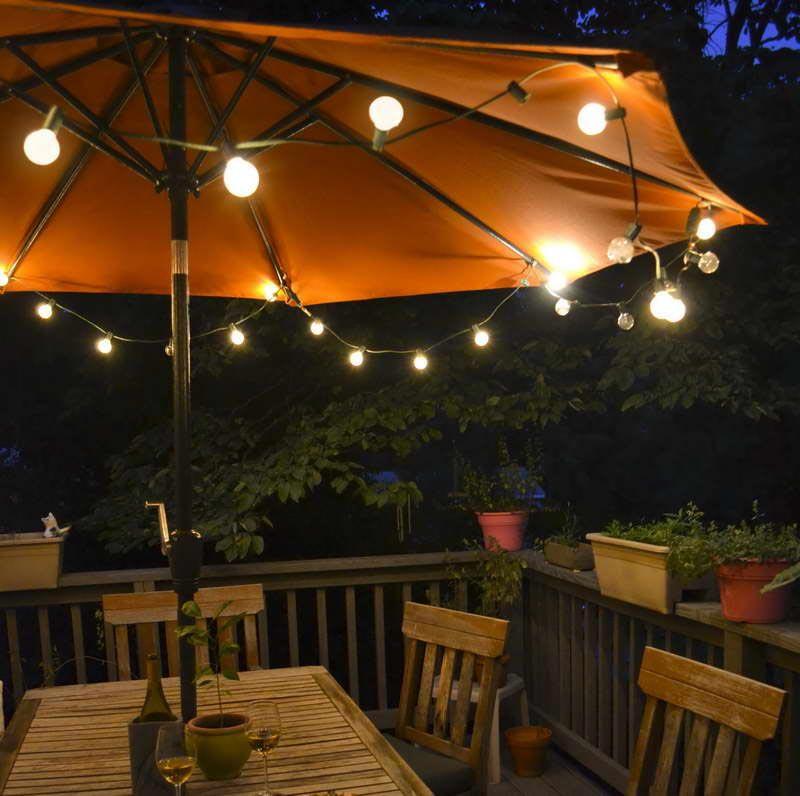 How to setup Solar Patio Umbrella Lights
