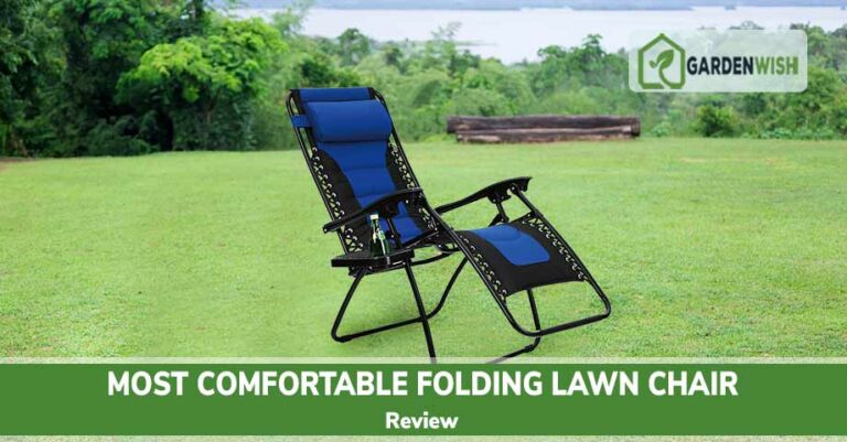 Most Comfortable Folding Lawn Chair